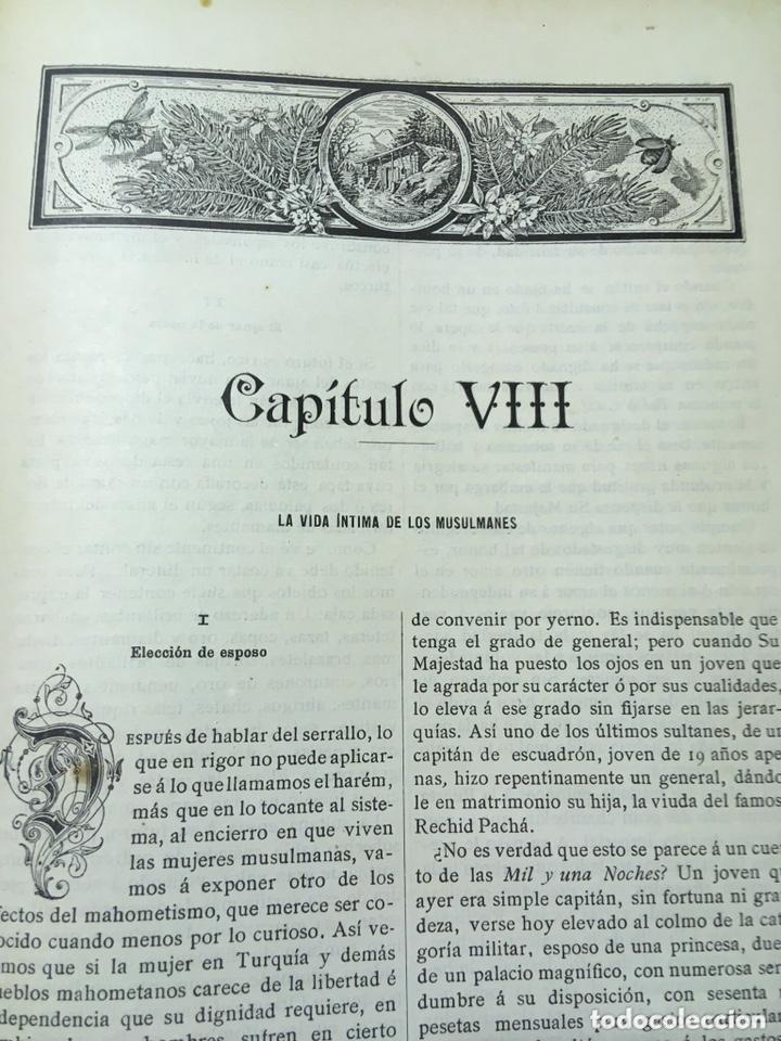 Libros antiguos: EL BELLO SEXO VINDICADO - HISTORIA MORAL DE LAS MUJERES - FRANCISCO NACENTE - 2 TOMOS 1890 ca 1ªEd. - Foto 24 - 172615752
