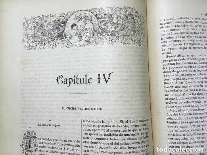 Libros antiguos: EL BELLO SEXO VINDICADO - HISTORIA MORAL DE LAS MUJERES - FRANCISCO NACENTE - 2 TOMOS 1890 ca 1ªEd. - Foto 28 - 172615752