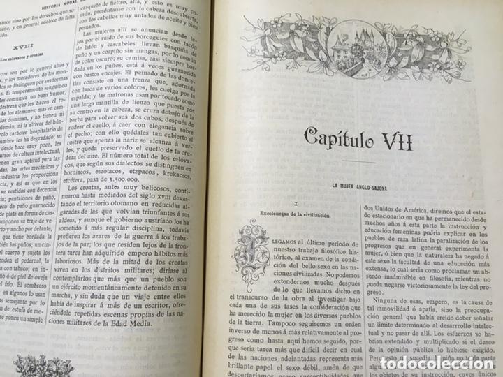 Libros antiguos: EL BELLO SEXO VINDICADO - HISTORIA MORAL DE LAS MUJERES - FRANCISCO NACENTE - 2 TOMOS 1890 ca 1ªEd. - Foto 29 - 172615752
