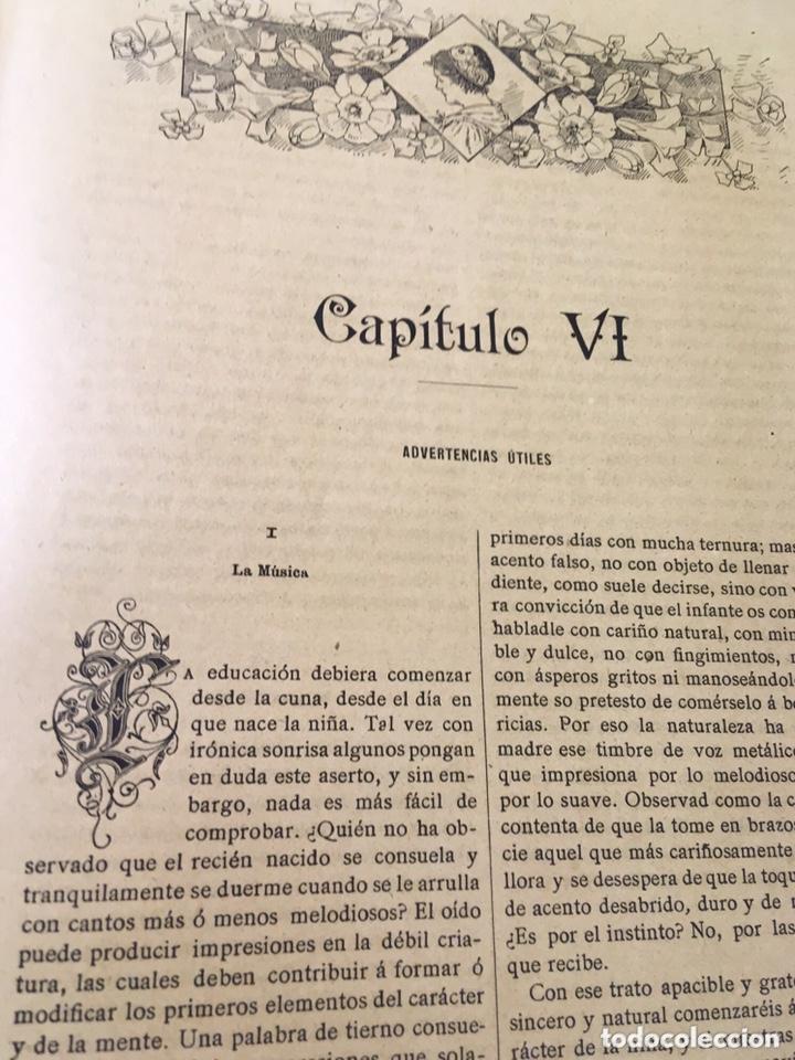 Libros antiguos: EL BELLO SEXO VINDICADO - HISTORIA MORAL DE LAS MUJERES - FRANCISCO NACENTE - 2 TOMOS 1890 ca 1ªEd. - Foto 35 - 172615752