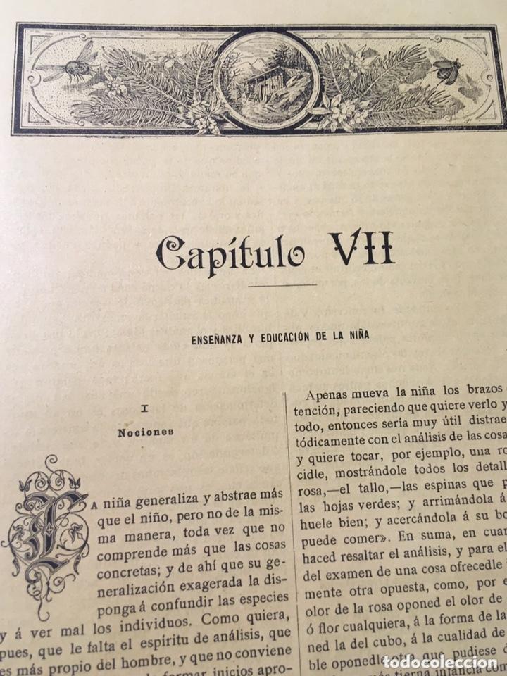 Libros antiguos: EL BELLO SEXO VINDICADO - HISTORIA MORAL DE LAS MUJERES - FRANCISCO NACENTE - 2 TOMOS 1890 ca 1ªEd. - Foto 36 - 172615752