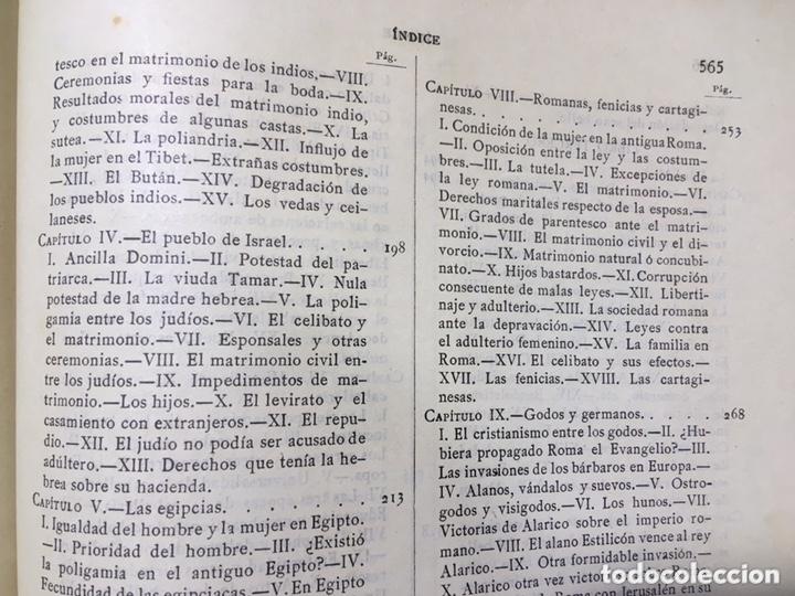 Libros antiguos: EL BELLO SEXO VINDICADO - HISTORIA MORAL DE LAS MUJERES - FRANCISCO NACENTE - 2 TOMOS 1890 ca 1ªEd. - Foto 45 - 172615752