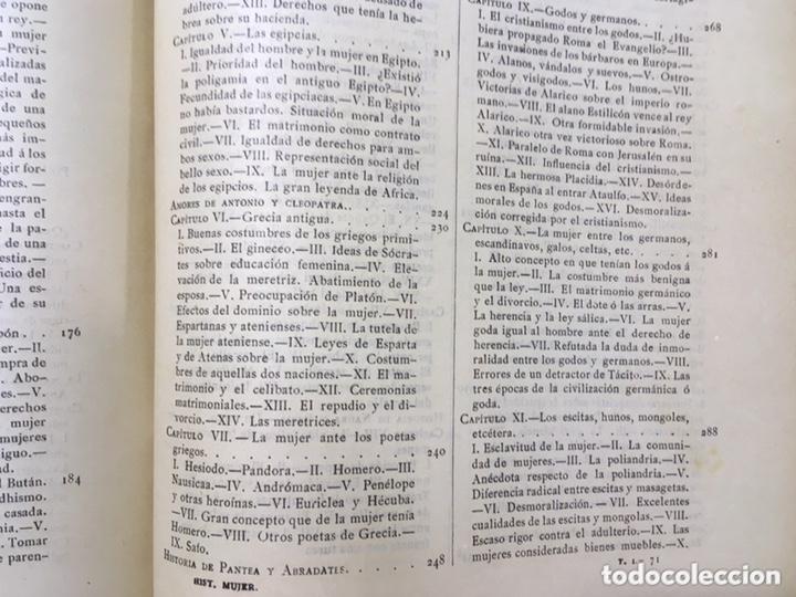 Libros antiguos: EL BELLO SEXO VINDICADO - HISTORIA MORAL DE LAS MUJERES - FRANCISCO NACENTE - 2 TOMOS 1890 ca 1ªEd. - Foto 46 - 172615752
