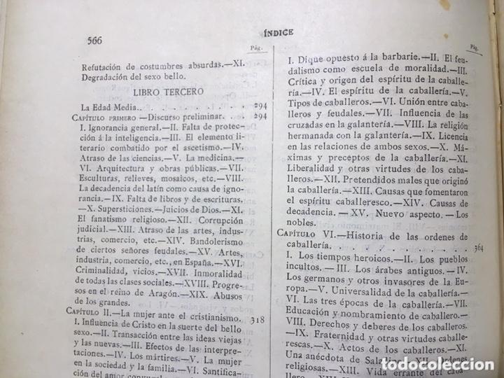 Libros antiguos: EL BELLO SEXO VINDICADO - HISTORIA MORAL DE LAS MUJERES - FRANCISCO NACENTE - 2 TOMOS 1890 ca 1ªEd. - Foto 47 - 172615752
