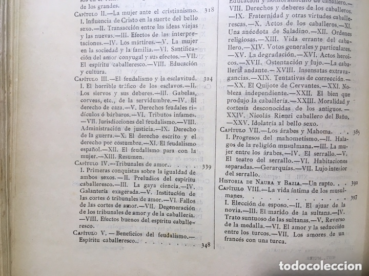 Libros antiguos: EL BELLO SEXO VINDICADO - HISTORIA MORAL DE LAS MUJERES - FRANCISCO NACENTE - 2 TOMOS 1890 ca 1ªEd. - Foto 48 - 172615752