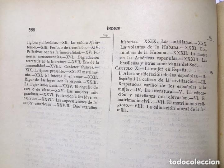 Libros antiguos: EL BELLO SEXO VINDICADO - HISTORIA MORAL DE LAS MUJERES - FRANCISCO NACENTE - 2 TOMOS 1890 ca 1ªEd. - Foto 51 - 172615752