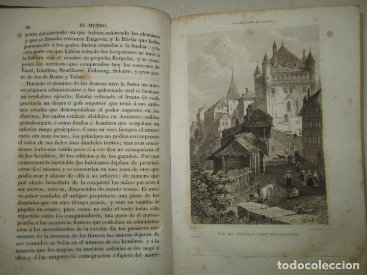 Libros antiguos: HISTORIAS DE SUIZA Y DE LOS PAÍSES BAJOS, DESDE LOS TIEMPOS MÁS REMOTOS HASTA 1840. - Foto 4 - 172636618