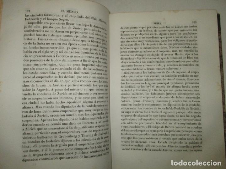 Libros antiguos: HISTORIAS DE SUIZA Y DE LOS PAÍSES BAJOS, DESDE LOS TIEMPOS MÁS REMOTOS HASTA 1840. - Foto 5 - 172636618