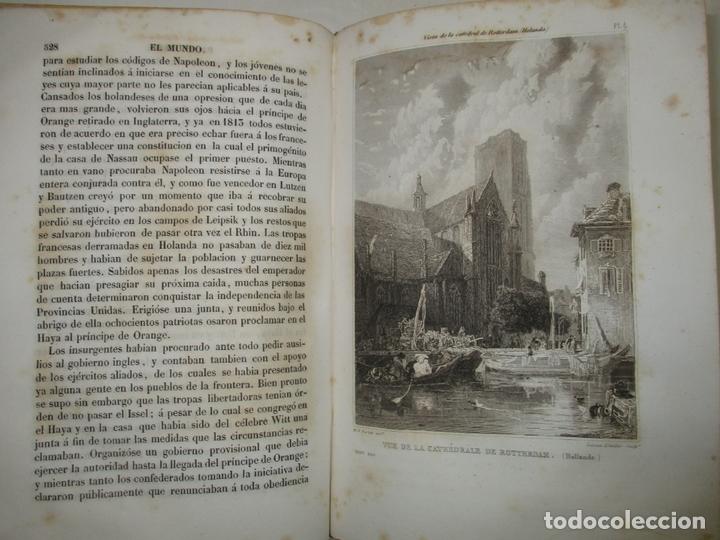 Libros antiguos: HISTORIAS DE SUIZA Y DE LOS PAÍSES BAJOS, DESDE LOS TIEMPOS MÁS REMOTOS HASTA 1840. - Foto 9 - 172636618