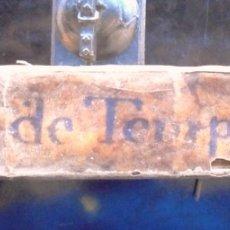 Libros antiguos: SUMMA DE TEMPS Y ALTRES RUDIMENTS DE LA GRAMATICA 1757 CERVERA, LICENCIADO DE VALLÈS, GABRIEL ROVIRA. Lote 172647803