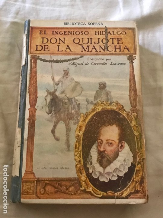DON QUIJOTE DE LA MANCHA. CERVANTES. ED. RAMON SOPENA. (Libros antiguos (hasta 1936), raros y curiosos - Literatura - Narrativa - Otros)