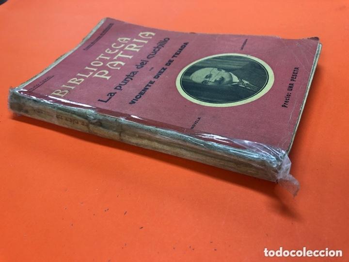 Libros antiguos: LA PUNTA DEL CUCHILLO - VICENTE DIEZ TEJADA - BIBLIOTECA PATRIA Nº 131 - AÑO 1917 - Foto 2 - 172717447