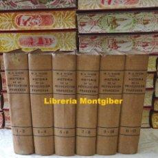 Libros antiguos: HISTORIA DE LA REVOLUCION FRANCESA . XII TOMOS EN 6 VOLS. AUTOR : THIERS, M.A. . Lote 172769618