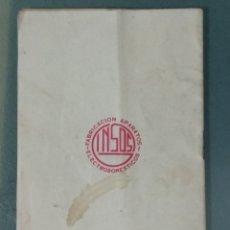 Libros antiguos: 116 RECETAS DE COCINA GINSOS. Lote 172792660