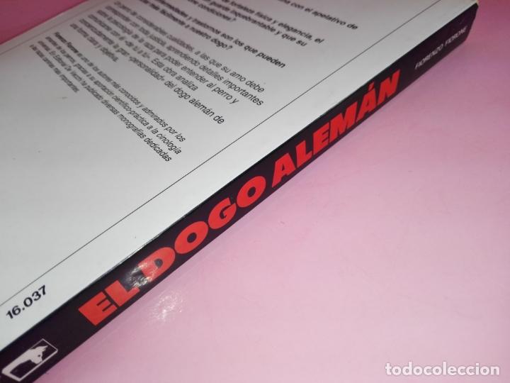 Libros antiguos: Libro-El Dogo Alemán-Fiorenzo Fiorone-Editorial de Vecchi-Buen estado-Ver fotos - Foto 3 - 172793829