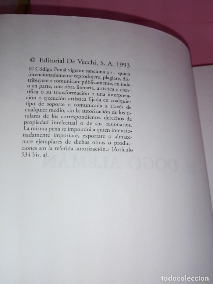 Libros antiguos: Libro-El Dogo Alemán-Fiorenzo Fiorone-Editorial de Vecchi-Buen estado-Ver fotos - Foto 6 - 172793829