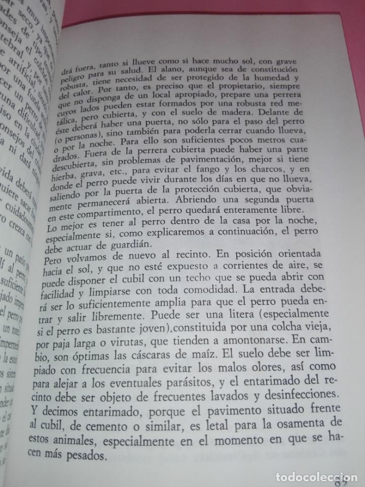 Libros antiguos: Libro-El Dogo Alemán-Fiorenzo Fiorone-Editorial de Vecchi-Buen estado-Ver fotos - Foto 9 - 172793829