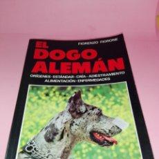 Libros antiguos: LIBRO-EL DOGO ALEMÁN-FIORENZO FIORONE-EDITORIAL DE VECCHI-BUEN ESTADO-VER FOTOS. Lote 172793829