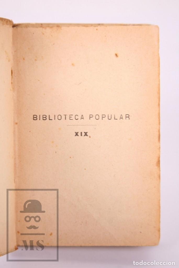 Libros antiguos: Libro 100 Fórmulas para Aprovechar Sobrantes de Viandas. Biblioteca Popular XIX - S. Calleja, S. XIX - Foto 4 - 172823765