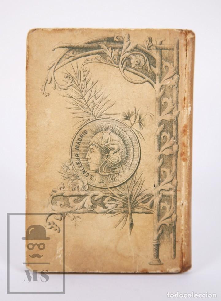 Libros antiguos: Libro 100 Fórmulas para Aprovechar Sobrantes de Viandas. Biblioteca Popular XIX - S. Calleja, S. XIX - Foto 9 - 172823765