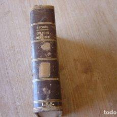 Libros antiguos: COURS ELEMENTAIRE DE CULTURE DES BOIS. M. LORENTZ. 1860. EN FRANCÉS.. Lote 172892092