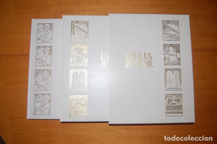 Libros antiguos: Biblia Juvenil - Foto 7 - 172952205