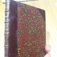 Libri antichi: LES PASSIONS DANS LEURS RAPPORTS AVEC LA SANTÉ ET LES MALADIES.BOURGEOIS,LOUIS XAVIER 1871. Lote 172975699