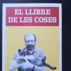 Libros antiguos: EL LLIBRE DE LES COSES - JAUME PERICH. Lote 173000677