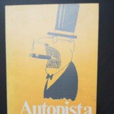 Libros antiguos: AUTOPISTA - PERICH. Lote 173000893