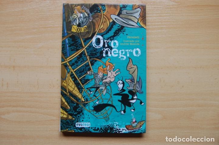 ORO NEGRO. INSPECTORA NOLA. (Libros Antiguos, Raros y Curiosos - Literatura Infantil y Juvenil - Otros)
