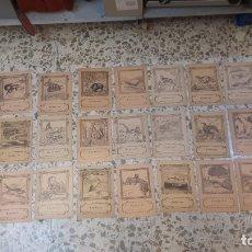 Libros antiguos: COLECCIÓN CUADERNOS ANIMALES, 33 DISTINTOS.. Lote 233698275