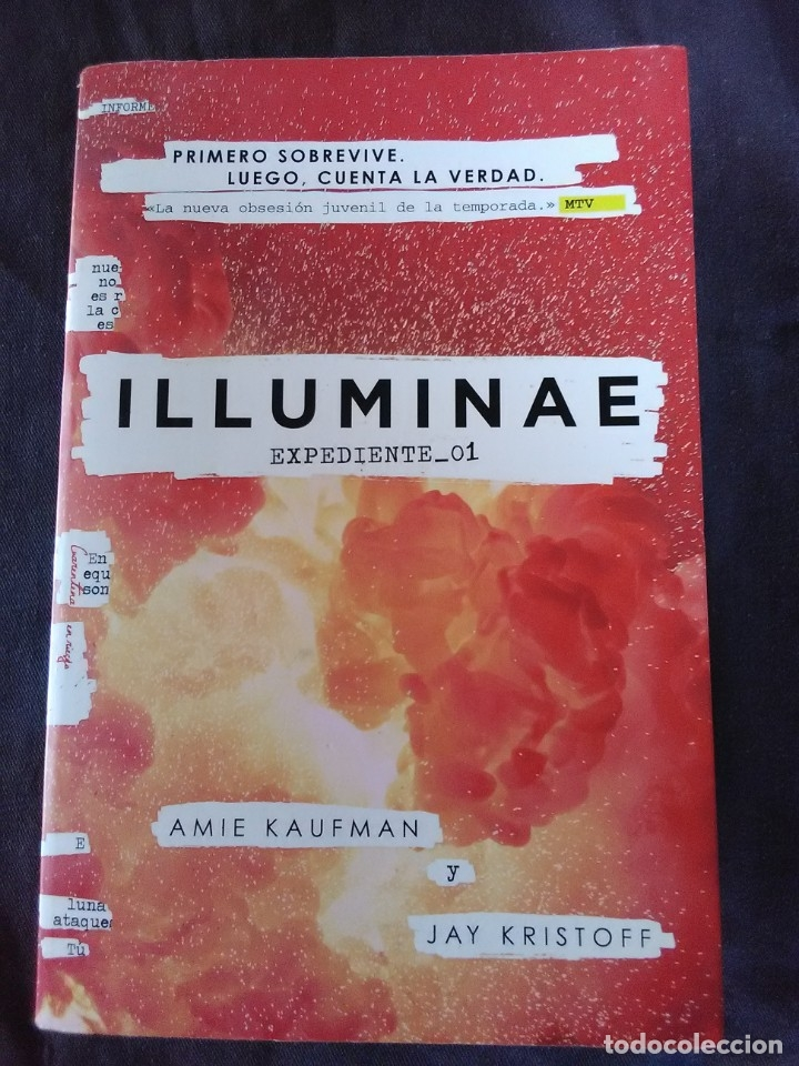 Libros antiguos: ILLUMINAE Expediente _01 - Foto 1 - 173128985