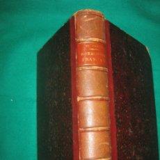 Libros antiguos: MORALISTES FRANÇAIS. PENSÉES DE BLAISE PASCAL. REFLEXIONS ET MAXIMES DE LA ROCHEFOUCAULD......1878. Lote 173237214