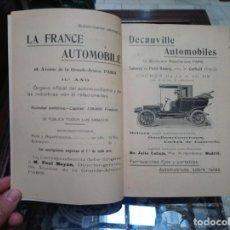Libros antiguos: 1905 TRATADO PRÁCTICO DE AUTOMÓVILES POR GUILLERMO ORTEGA Y RICARDO GOYTRE, PRIMERA EDICIÓN. Lote 173441740