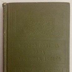 Libros antiguos: MÉTODO CORTINA. INGLÉS EN VEINTE LECCIONES.. Lote 173488750