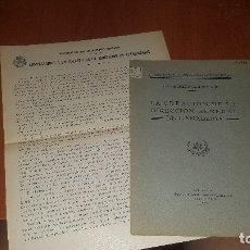 Libros antiguos: UN DECRETO EQUIVOCADO, LA CREACION DE LA DIRECCION GENERAL DE GANADERIA, MADRID 1931 + DIPTICO. Lote 173574677