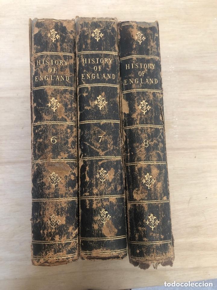 Libros antiguos: History of england - Foto 2 - 173625444
