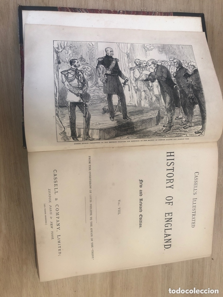 Libros antiguos: History of england - Foto 4 - 173625444