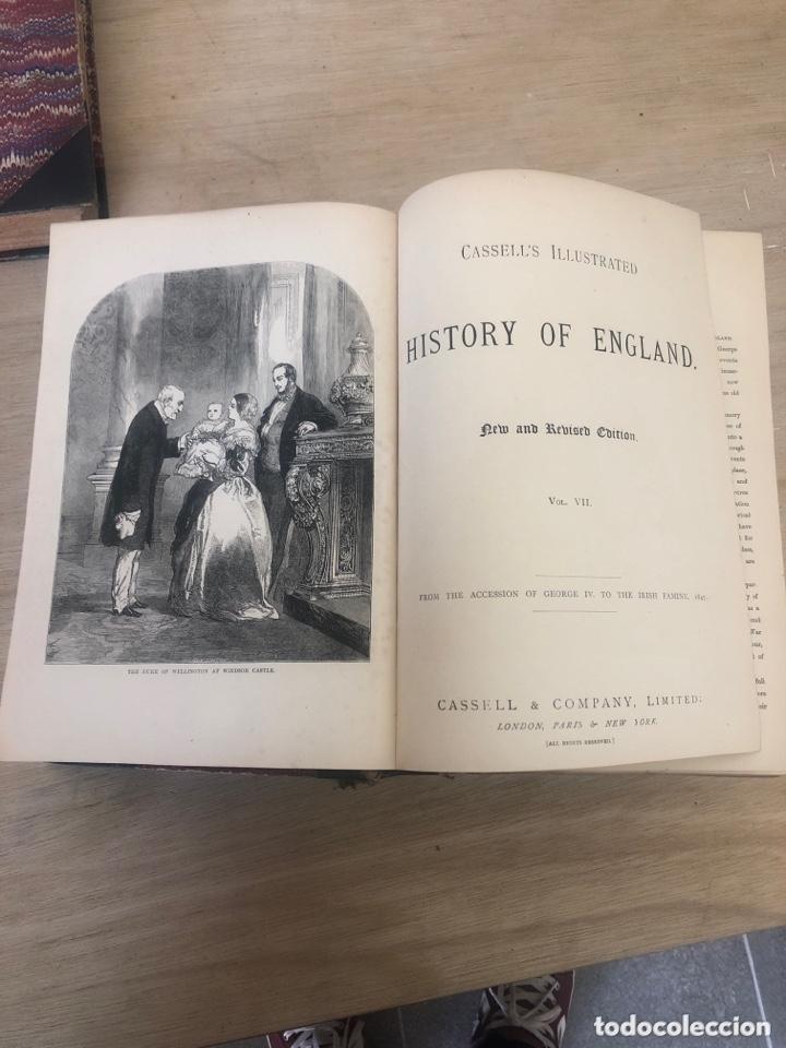 Libros antiguos: History of england - Foto 5 - 173625444