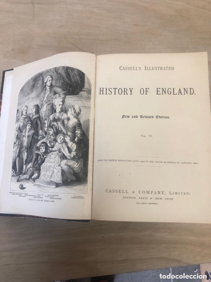 Libros antiguos: History of england - Foto 6 - 173625444