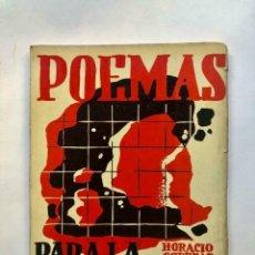 Libros antiguos: HORACIO CORREAS - POEMAS PARA LA TIERRA DE NADIE - TAPA DE JULIO VANZO - SIGNED. Lote 173676220