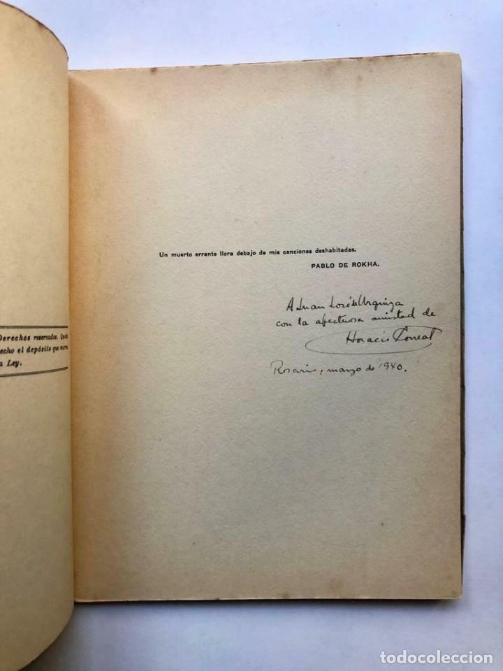 Libros antiguos: Horacio CORREAS - Poemas para la tierra de nadie - Tapa de Julio Vanzo - SIGNED - Foto 2 - 173676220