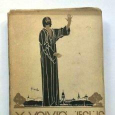 Libros antiguos: ENRIQUE MENDEZ CALZADA - Y VOLVIÓ JESÚS A BUENOS AIRES: CUENTOS - 1926 SIGNED. Lote 173676273