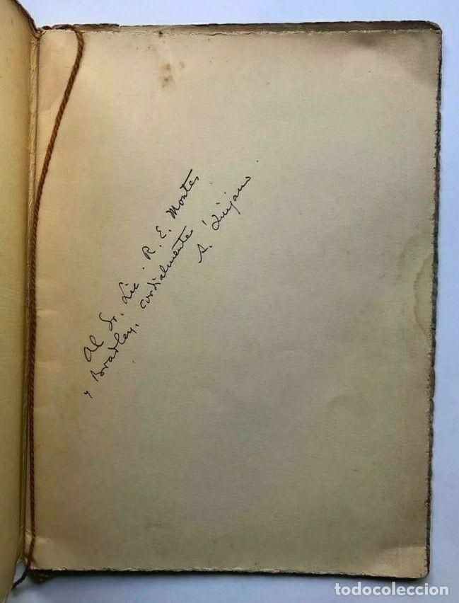 Libros antiguos: Alejandro QUIJANO - Mazatlan - México 1939 - Firmado SIGNED - Foto 2 - 173676333
