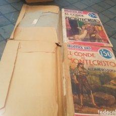 Libros antiguos: EL CONDE DE MONTECRISTO TOMO 1 Y TOMO 2. Lote 173752173