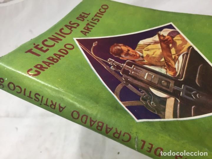 Libros antiguos: Técnicas del grabado artístico Tomás Gutiérrez Larraya 1944 buril Manuales Molina Buenos Aires - Foto 2 - 173821089