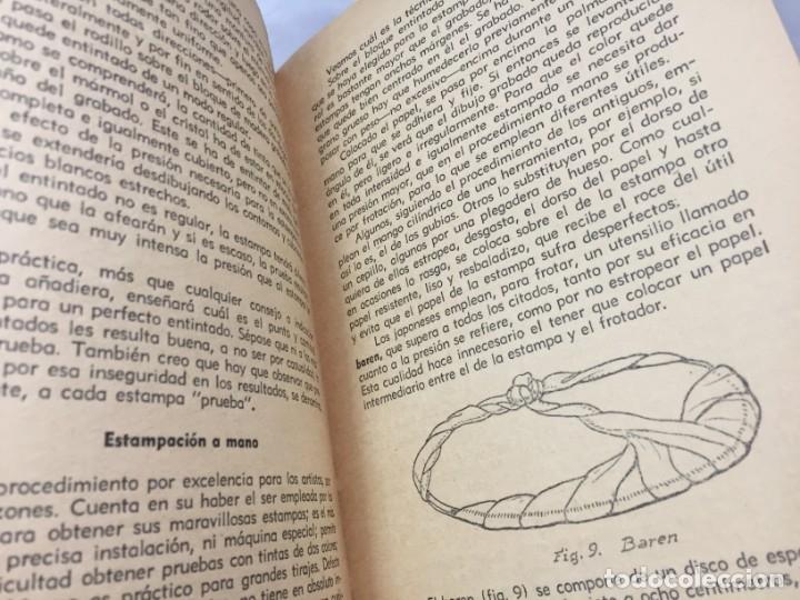 Libros antiguos: Técnicas del grabado artístico Tomás Gutiérrez Larraya 1944 buril Manuales Molina Buenos Aires - Foto 5 - 173821089
