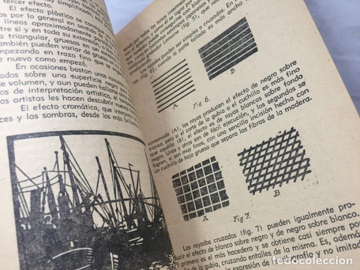 Libros antiguos: Técnicas del grabado artístico Tomás Gutiérrez Larraya 1944 buril Manuales Molina Buenos Aires - Foto 7 - 173821089