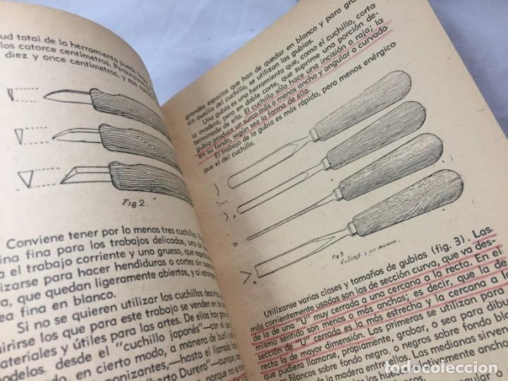 Libros antiguos: Técnicas del grabado artístico Tomás Gutiérrez Larraya 1944 buril Manuales Molina Buenos Aires - Foto 8 - 173821089
