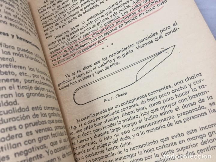 Libros antiguos: Técnicas del grabado artístico Tomás Gutiérrez Larraya 1944 buril Manuales Molina Buenos Aires - Foto 9 - 173821089